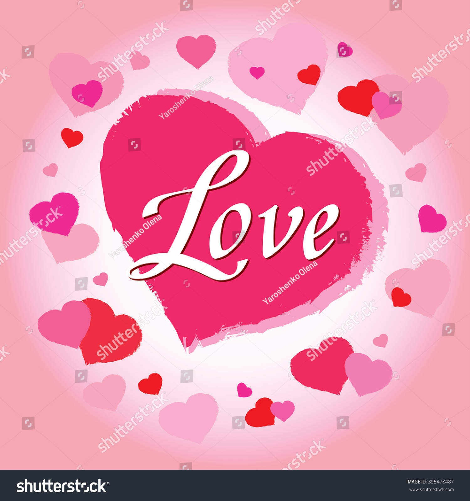 valentines day abstract background cut paper stock illustration