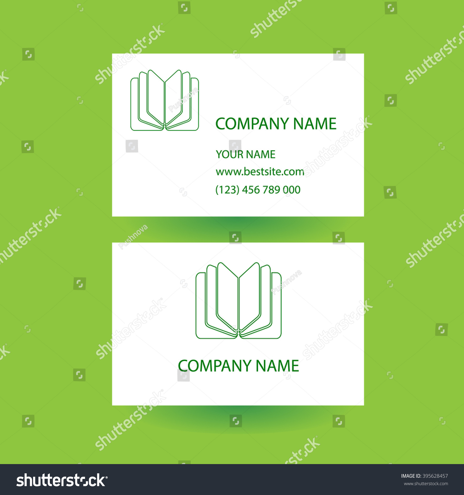 business card logo business card concept stock vector business card with logo business card concept