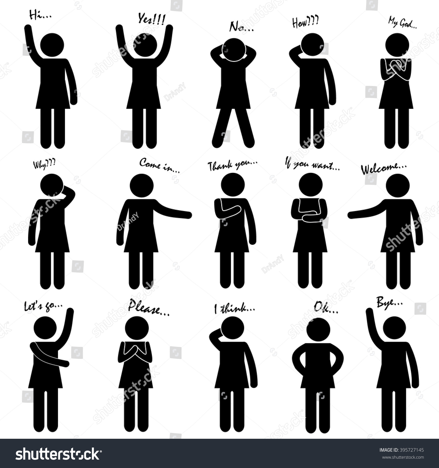 Womens Body Language Signs