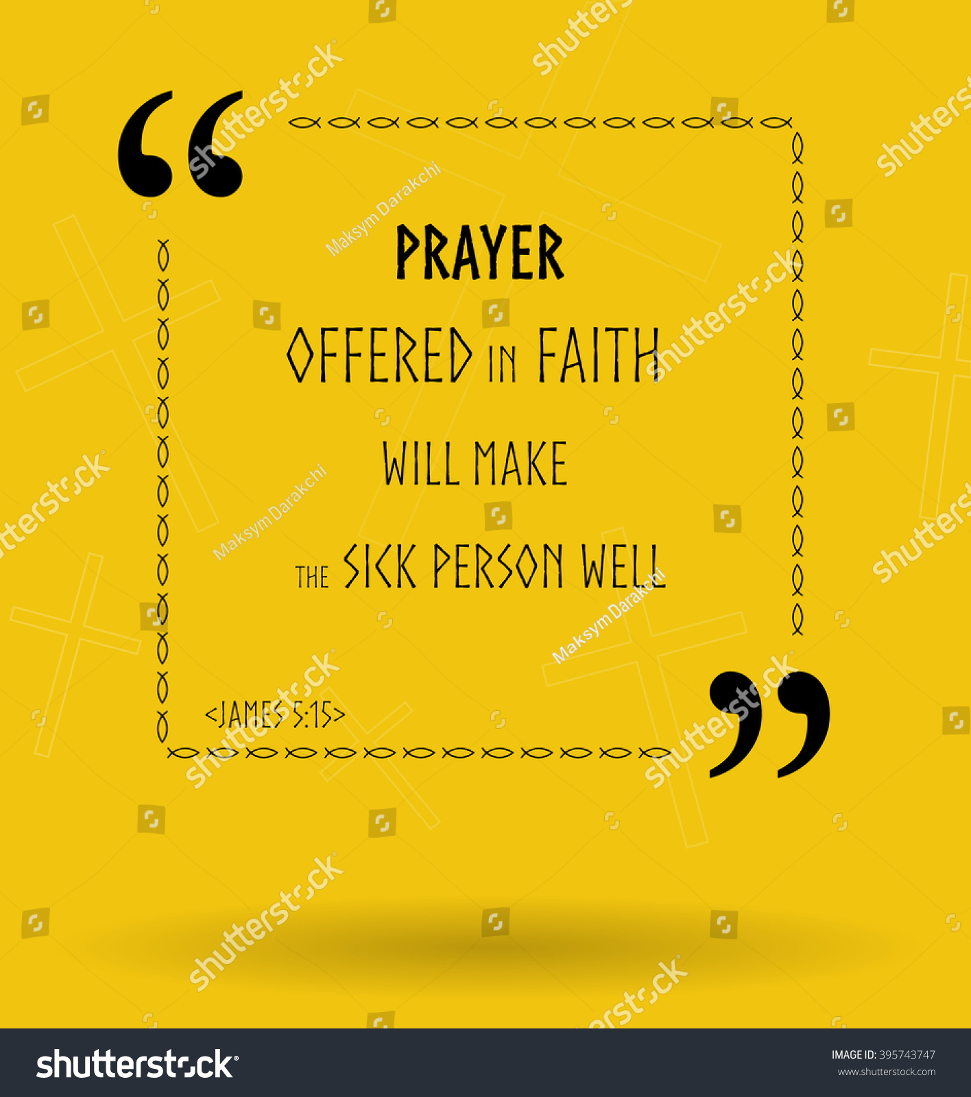 best bible quotes about proper prayer stock illustration 395743747