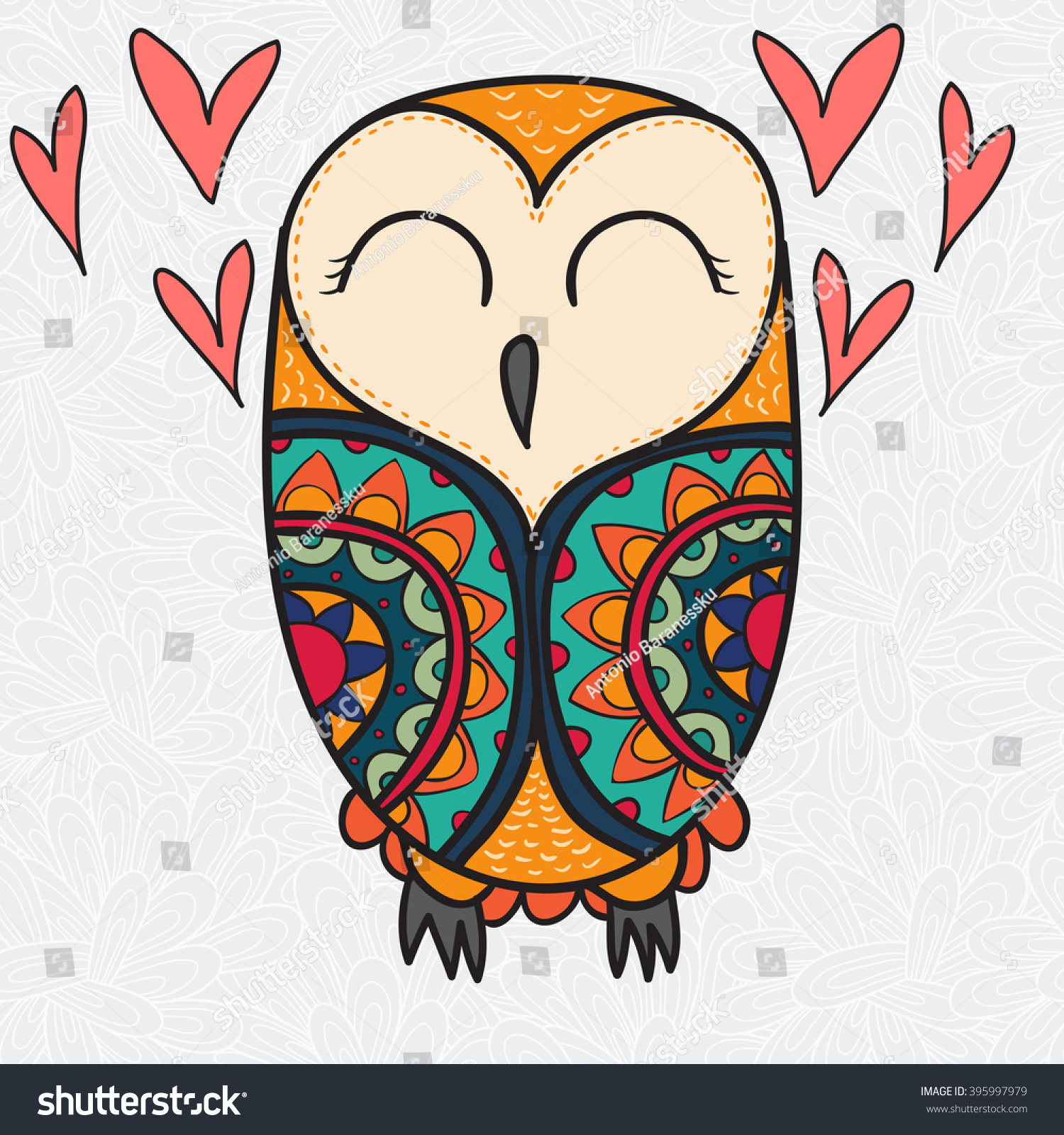 Cute colorful owl wallpapers