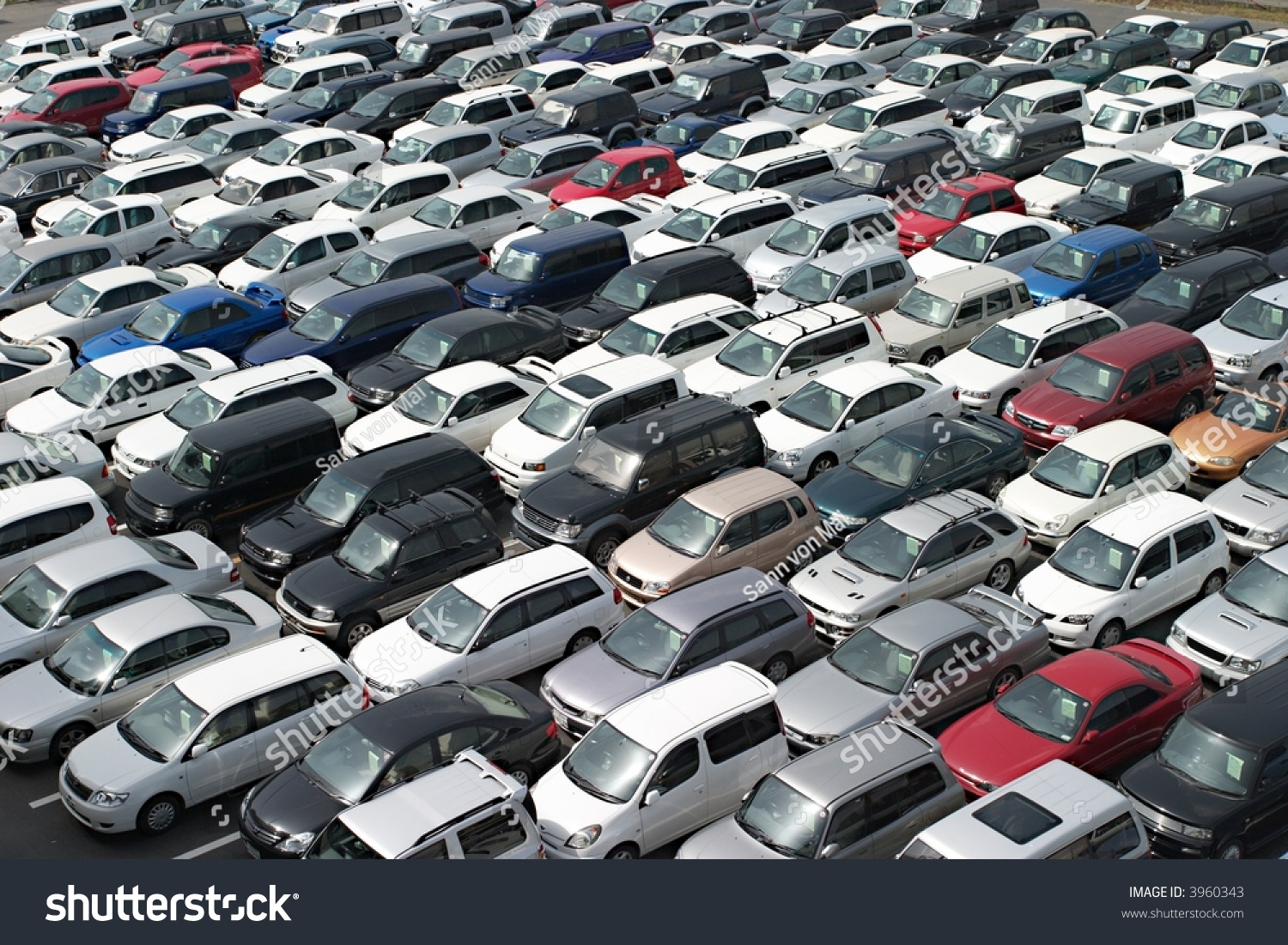 Japanese Used Car Auction Stock Photo (Edit Now) 3960343