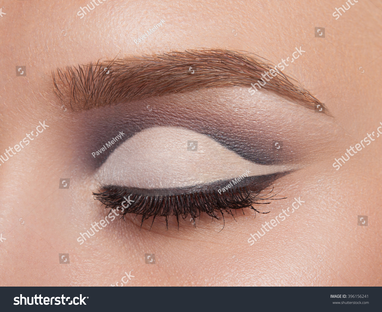 Makeup eye Smokey close up pictures forecast to wear in autumn in 2019