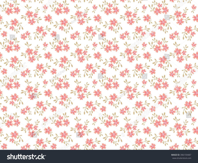 cute pattern in small flower small blue flowers dark