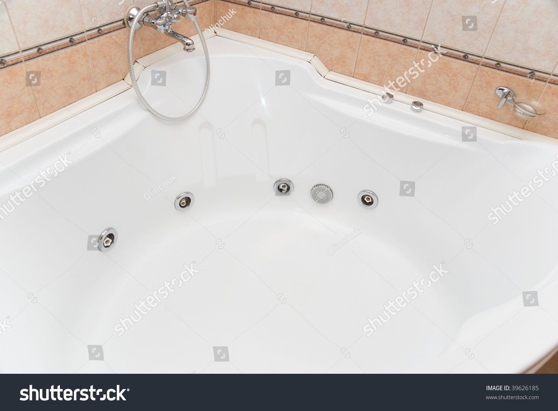 Big Bathtub Spa Stock Photo (Royalty Free) 39626185 - Shutterstock