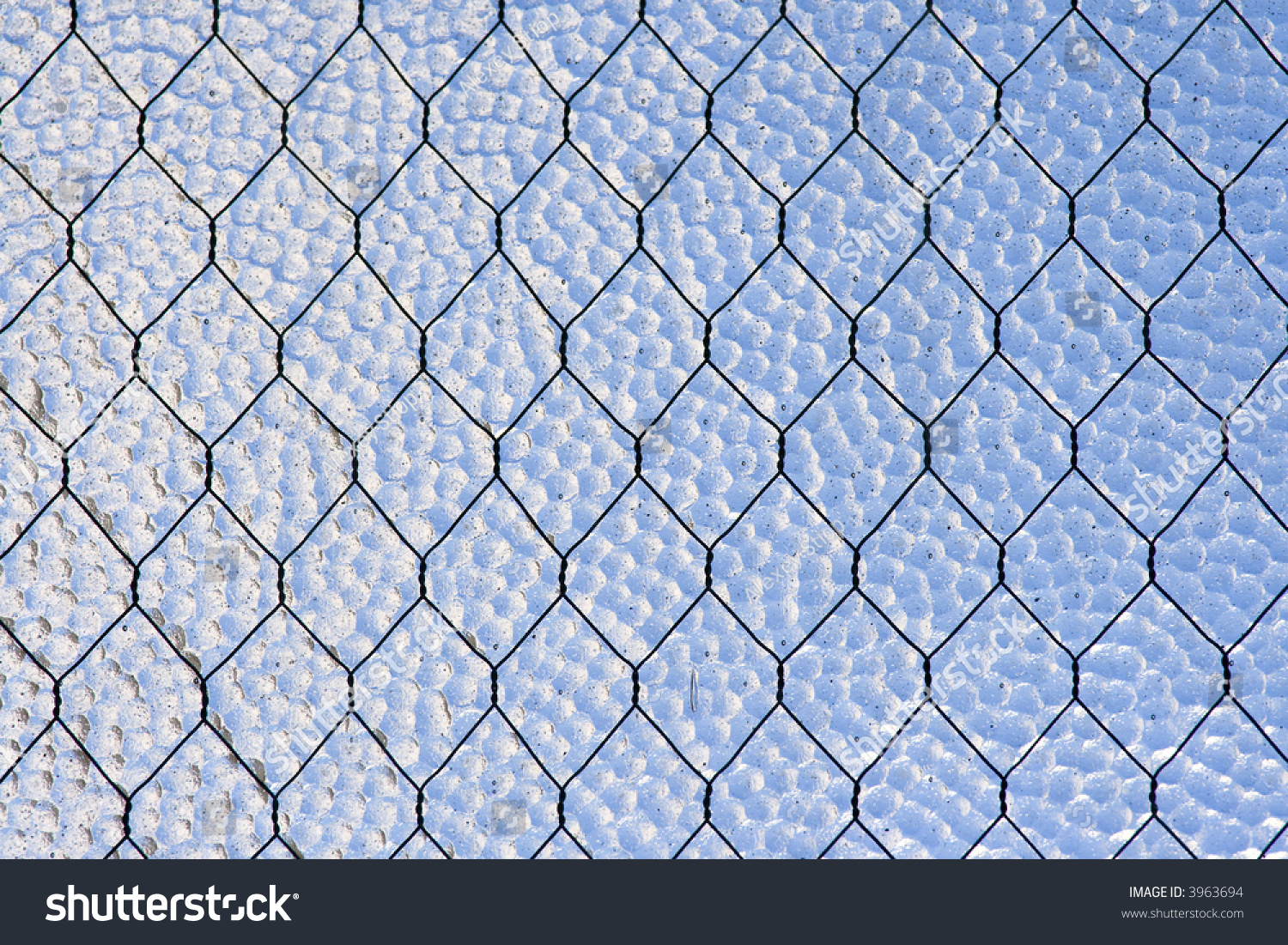 Closeup Image Wirereinforced Glass Window Abstract Stock Photo (100 ...