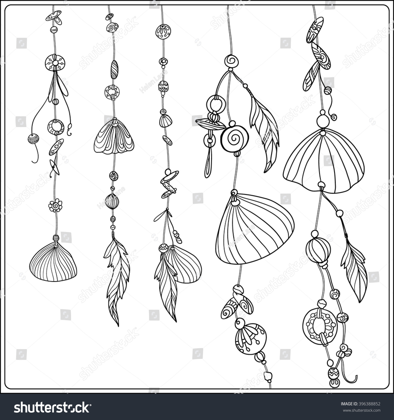 Shell Adult Coloring Page