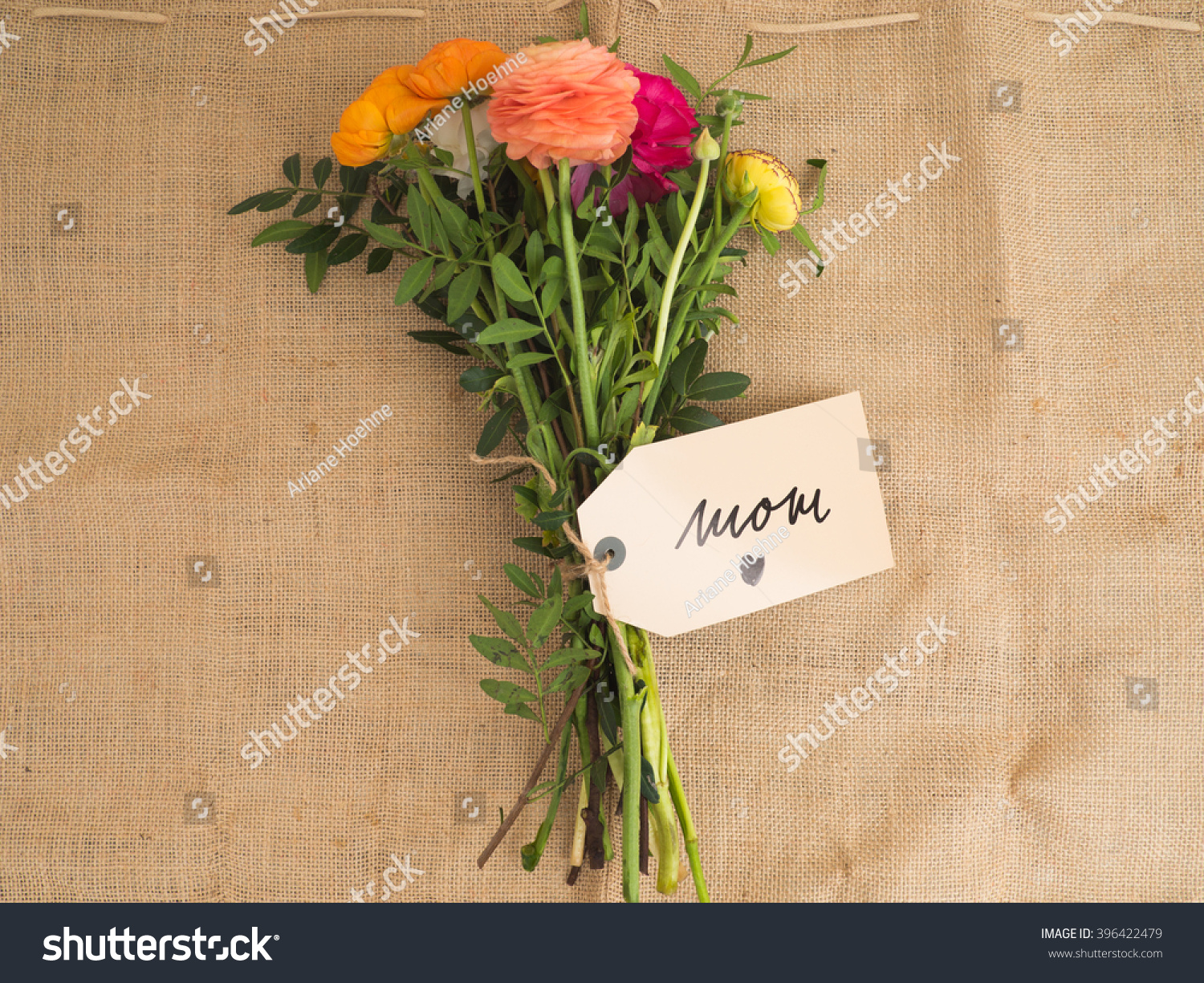 Royalty Free Beautiful Bouquet Of Flowers With A 396422479 Stock