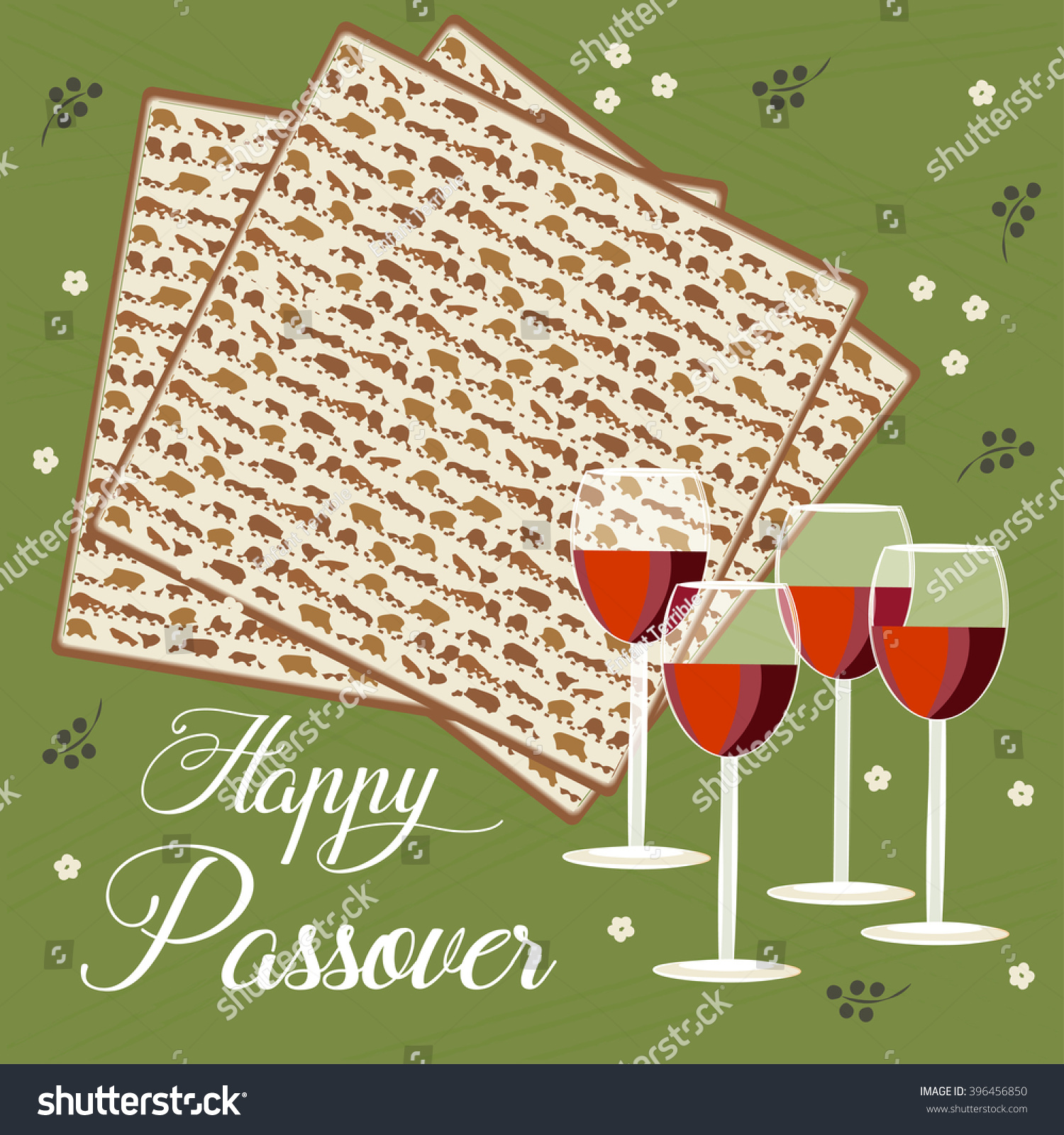 Greeting card design passover vector template stock vector royalty greeting card design for passover vector template jewish spring holiday greeting card poster m4hsunfo