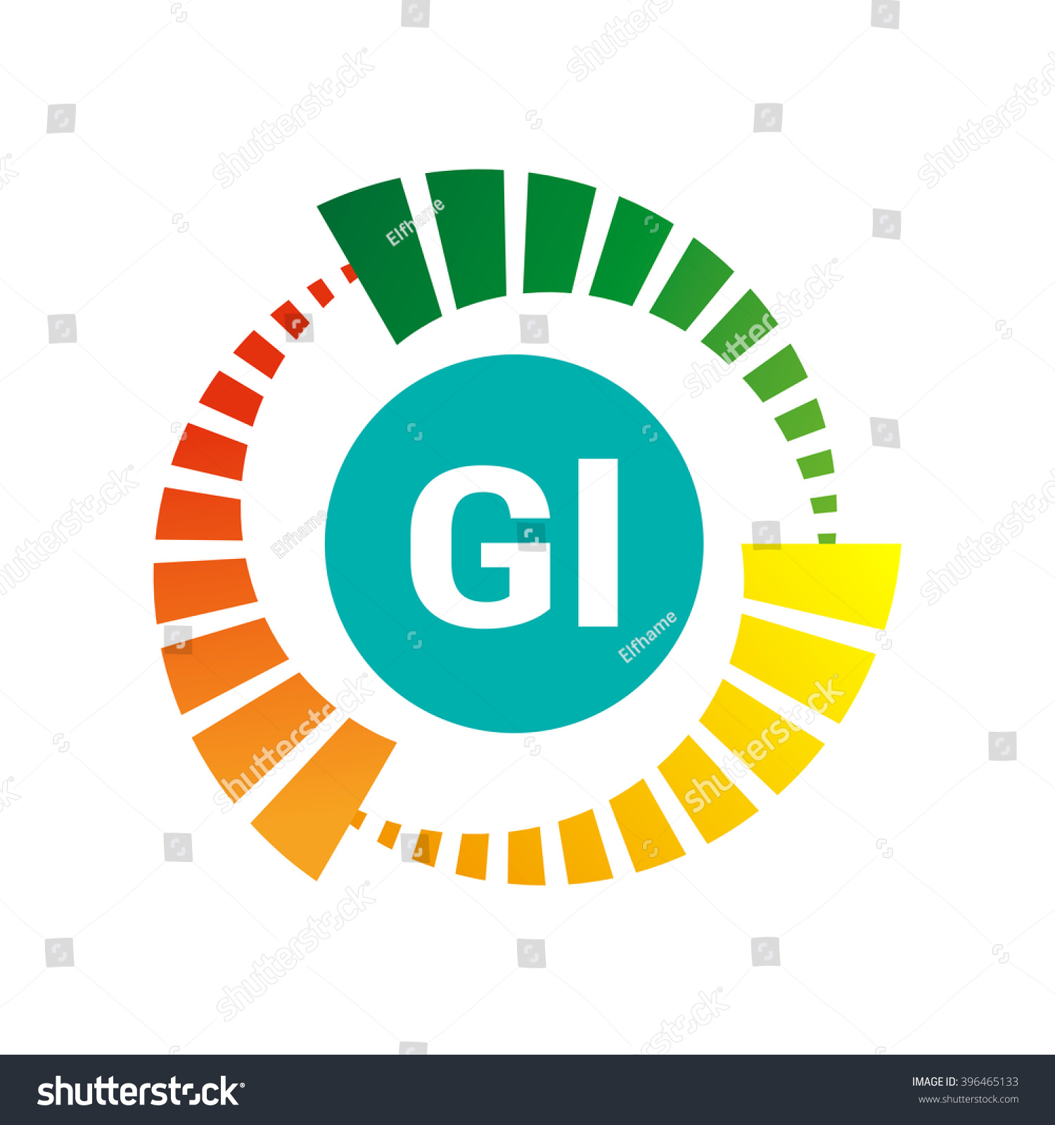 Sign glycemic index stock vector 396465133 shutterstock the sign of the glycemic index biocorpaavc Gallery