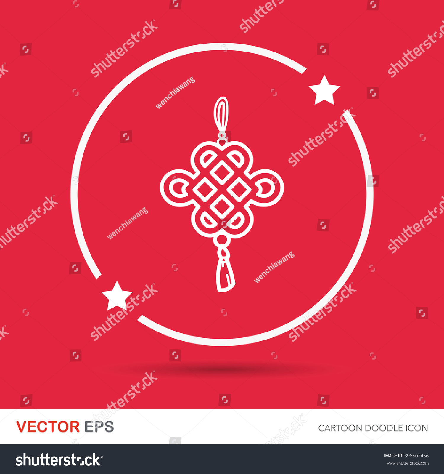 Chinese new year ancient coins lucky stock vector 396502456 chinese new year ancient coins lucky pendant doodle buycottarizona Images