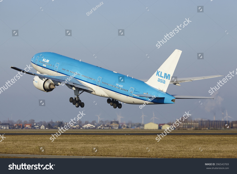 AMSTERDAM NETHERLANDS MARCH 13 KLM Boeing Stock Photo (Edit