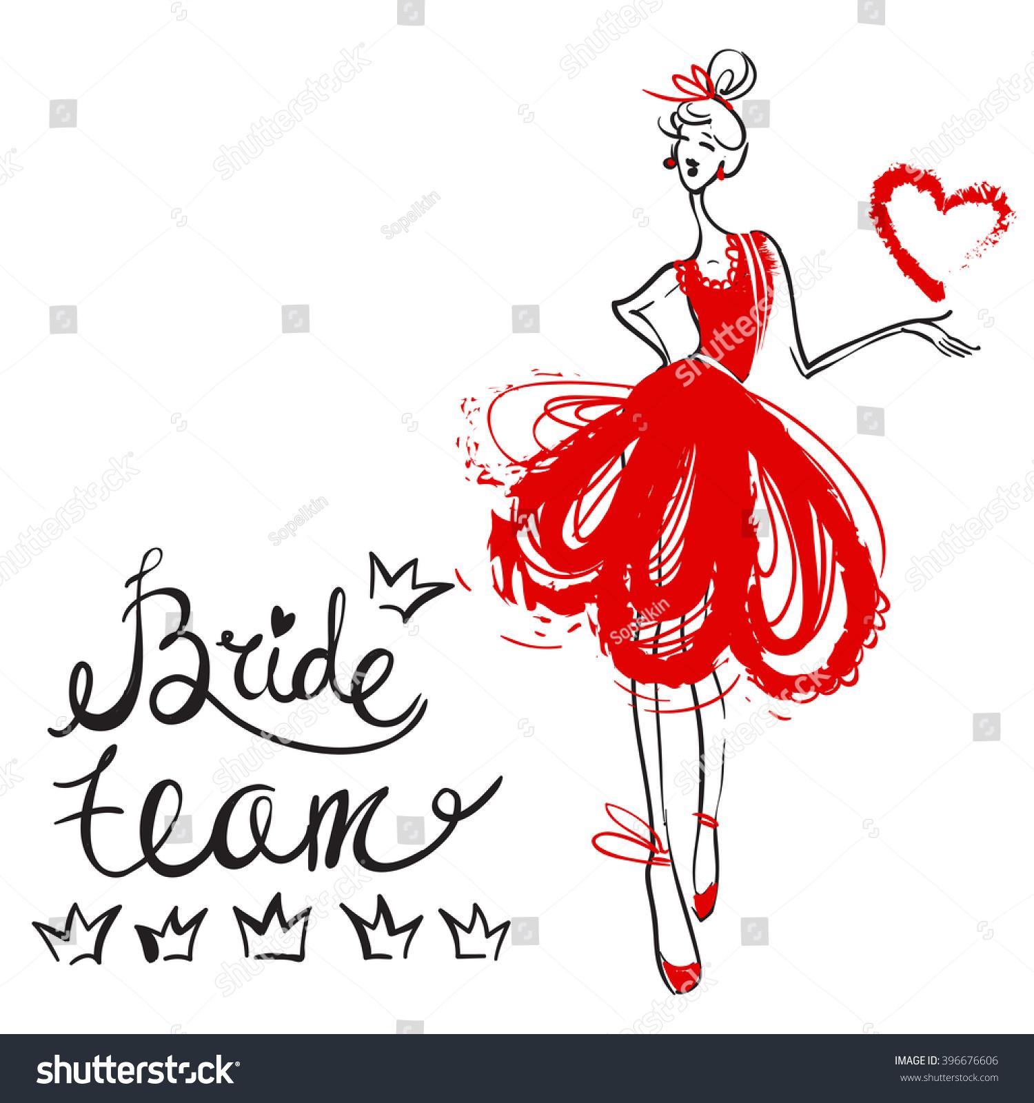 Fashion Attractive Fashion Wedding Invitation Card Stock Vector ...