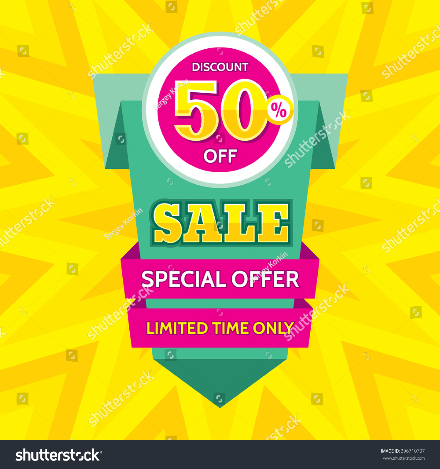 Sale Vector Banner Design Discount 50 เวกเตอร์สต็อก ...