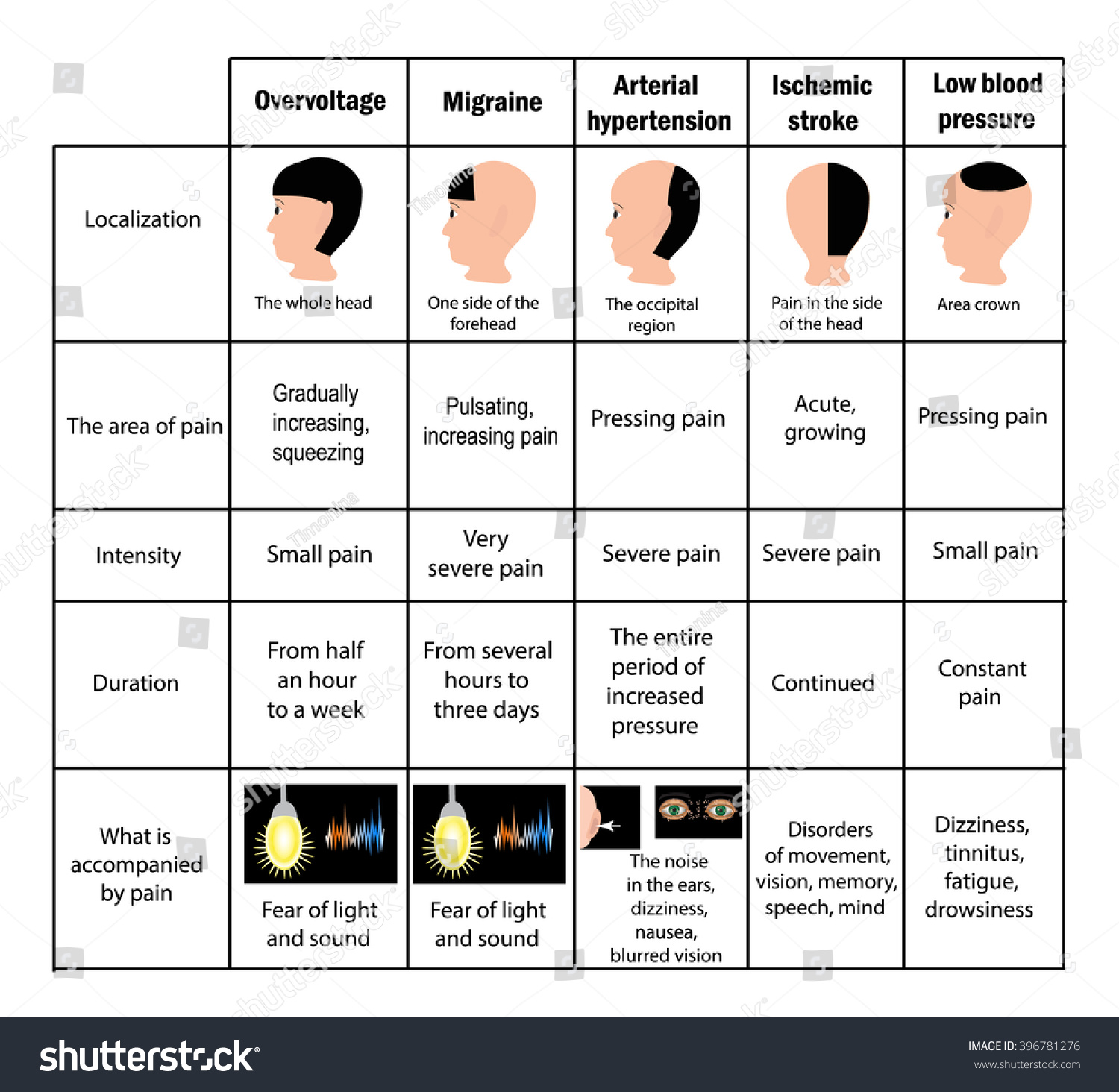 Types Of Headaches By Location Pictures to Pin on Pinterest ...