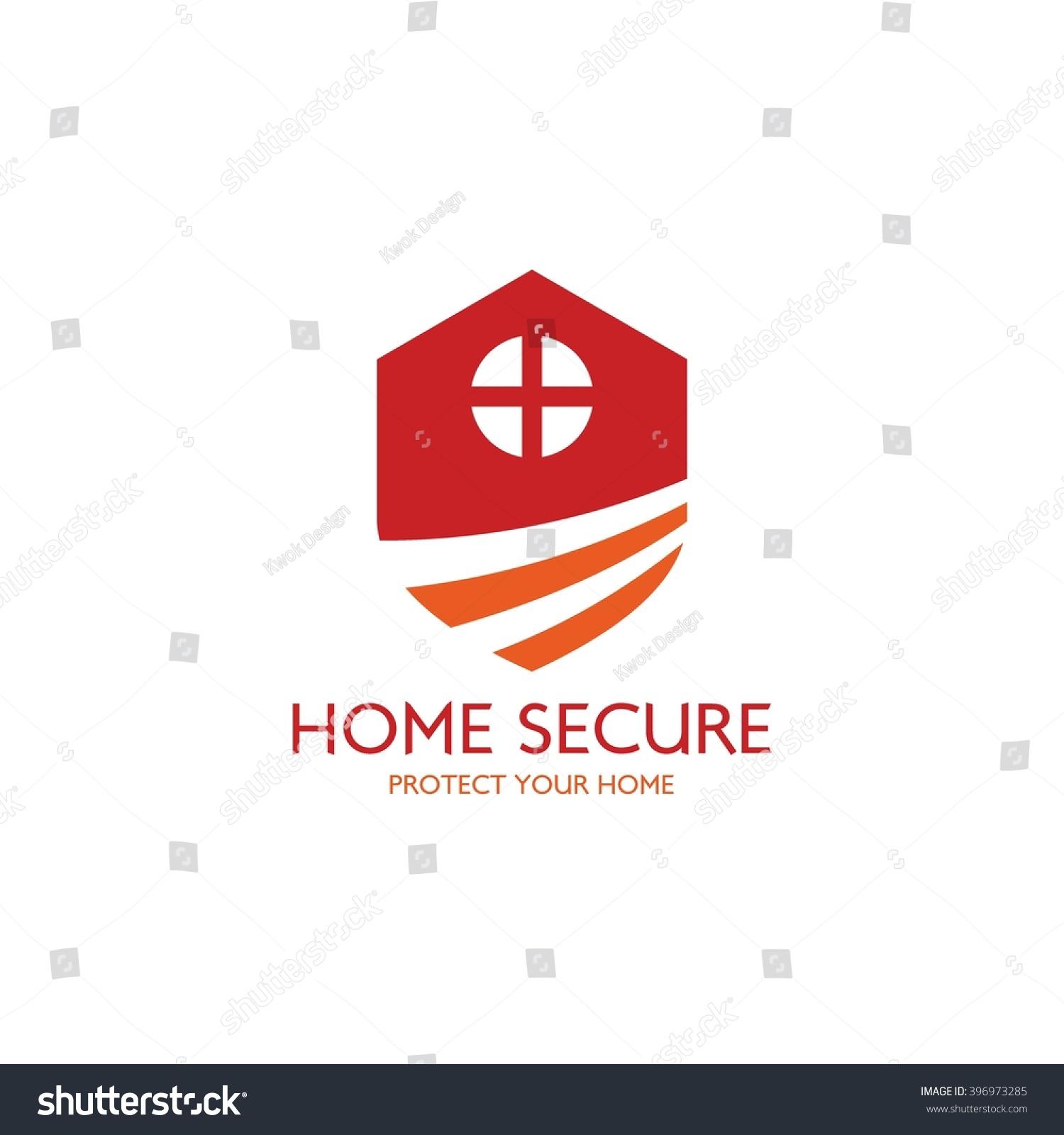 classy chair logo design. Home security logo design template  Guard your house Vector Illustration Security Logo Design Template Stock 396973285