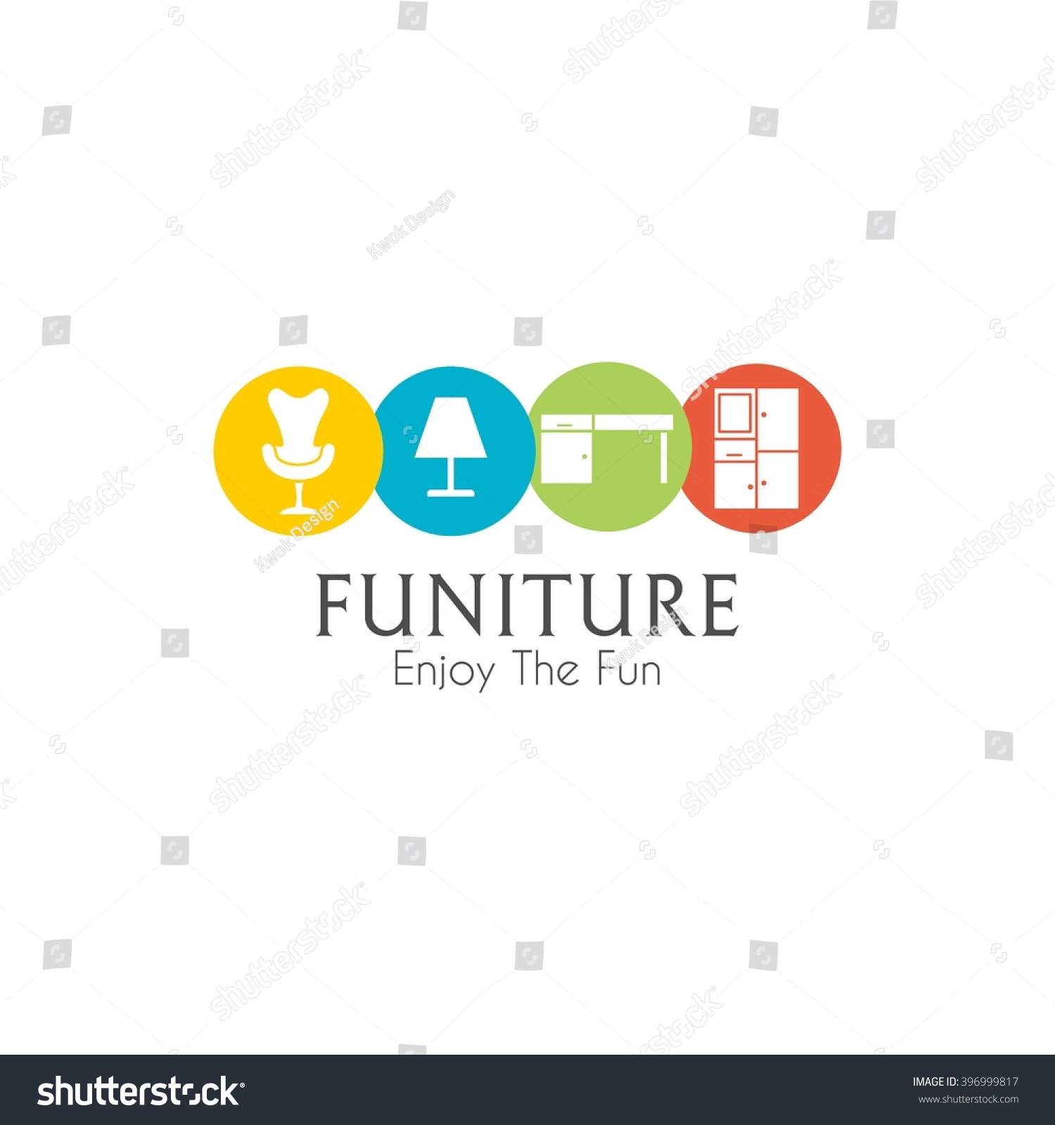 Business sign vector template furniture store stock vector hd business sign vector template for furniture store home decor boutique design template vector illustration flashek Images