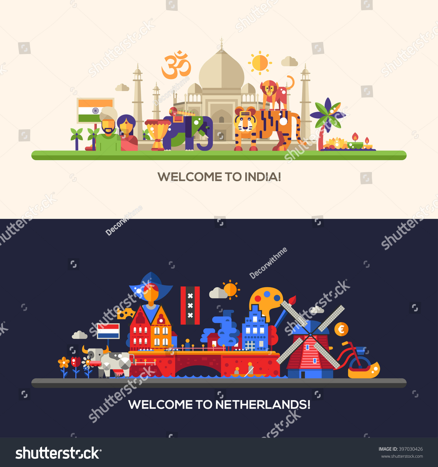 Tourism India Banners Construction Banners