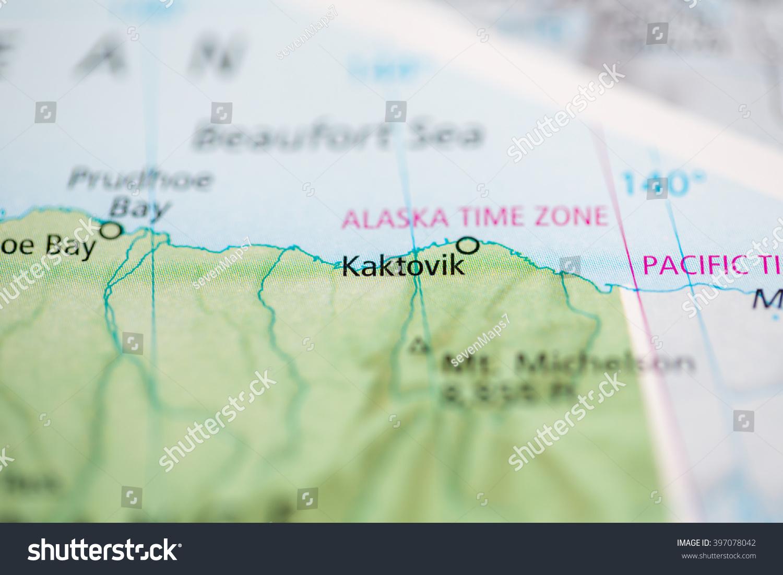 Kaktovik Alaska Map.Kaktovik Alaska Usa Stock Photo Edit Now 397078042 Shutterstock