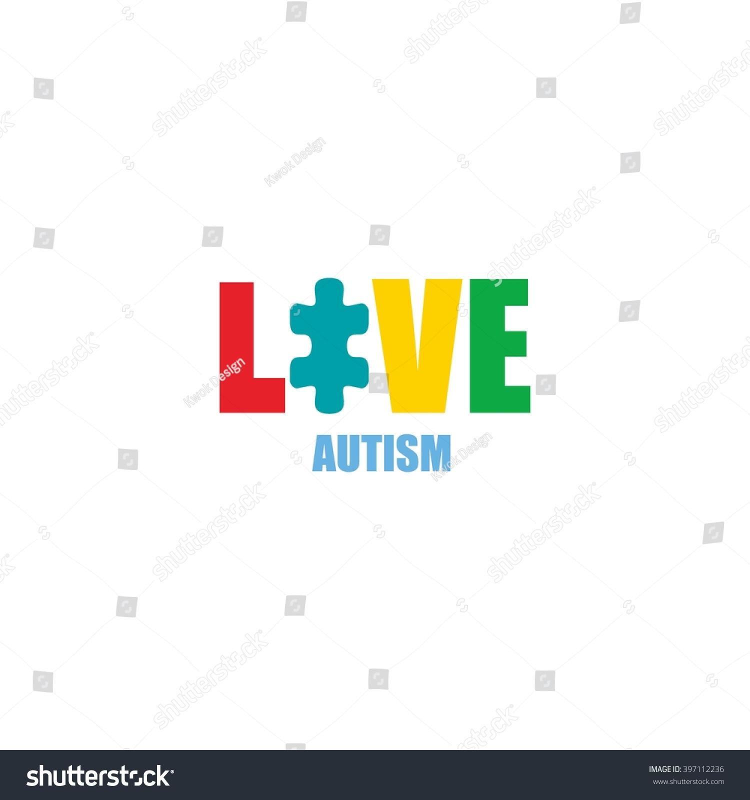 World autism awareness day logo design stock vector 397112236 world autism awareness day logo design template vector illustration colorful puzzles symbol biocorpaavc