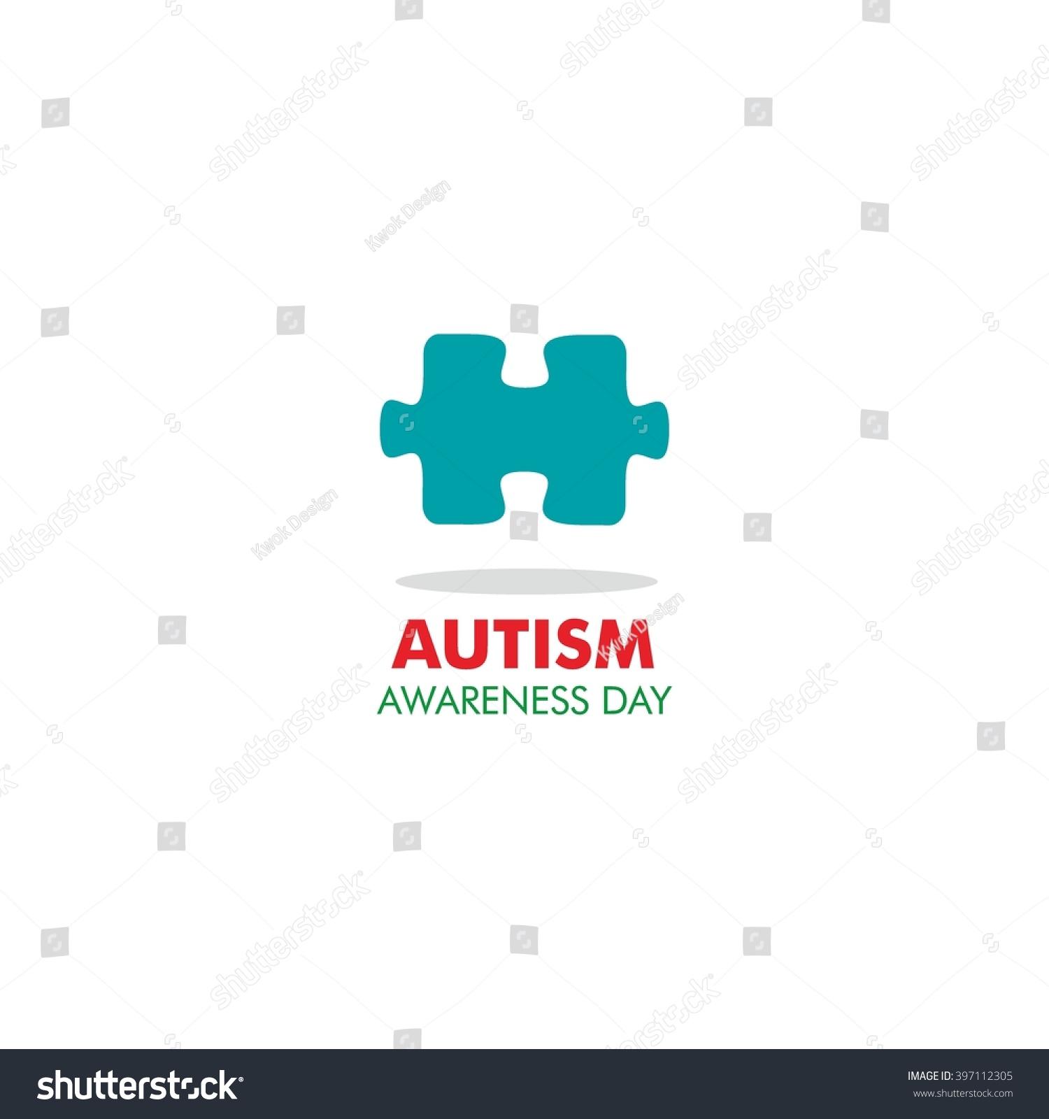World autism awareness day logo design stock vector 397112305 world autism awareness day logo design template vector illustration colorful puzzles symbol biocorpaavc