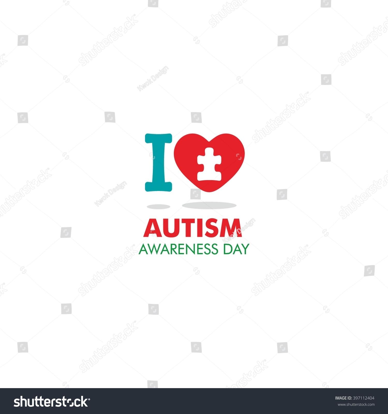 World autism awareness day logo design stock vector 397112404 world autism awareness day logo design template vector illustration colorful puzzles symbol biocorpaavc