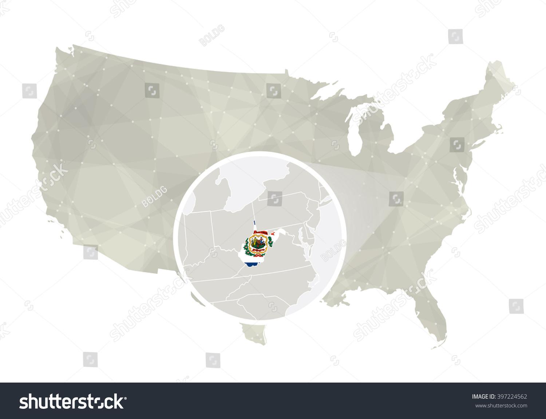 Usa Map Virginia - West virginia us map