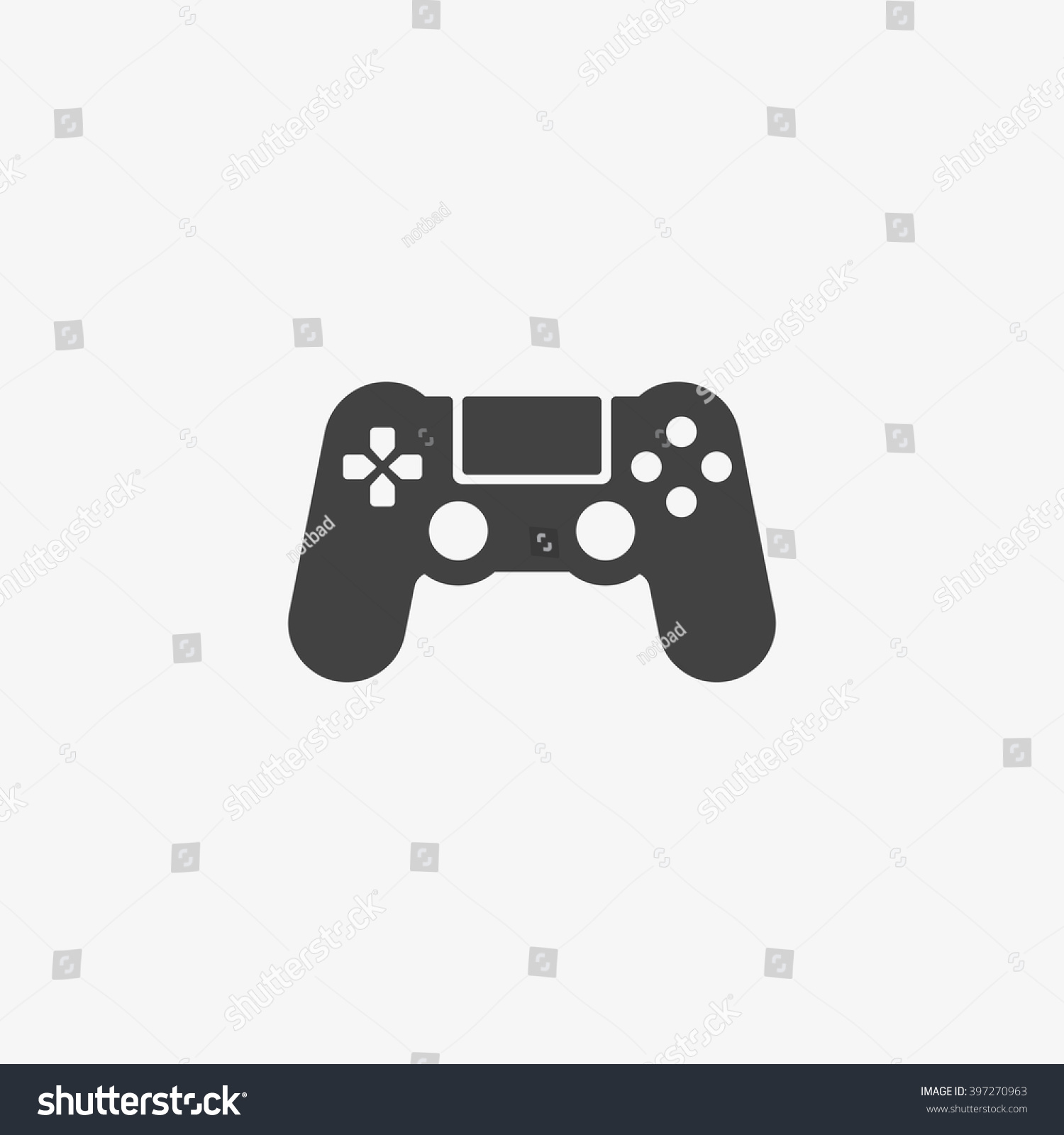 Game Icon Trendy Flat Style Isolated Stock Vector 397270963 ...