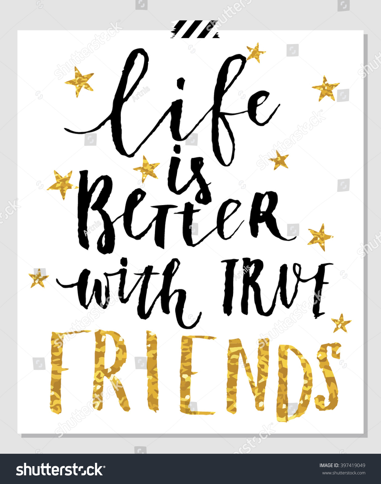 Quotes About Tea And Friendship Life Better Friends Card Best Friends Stock Vector 397419049