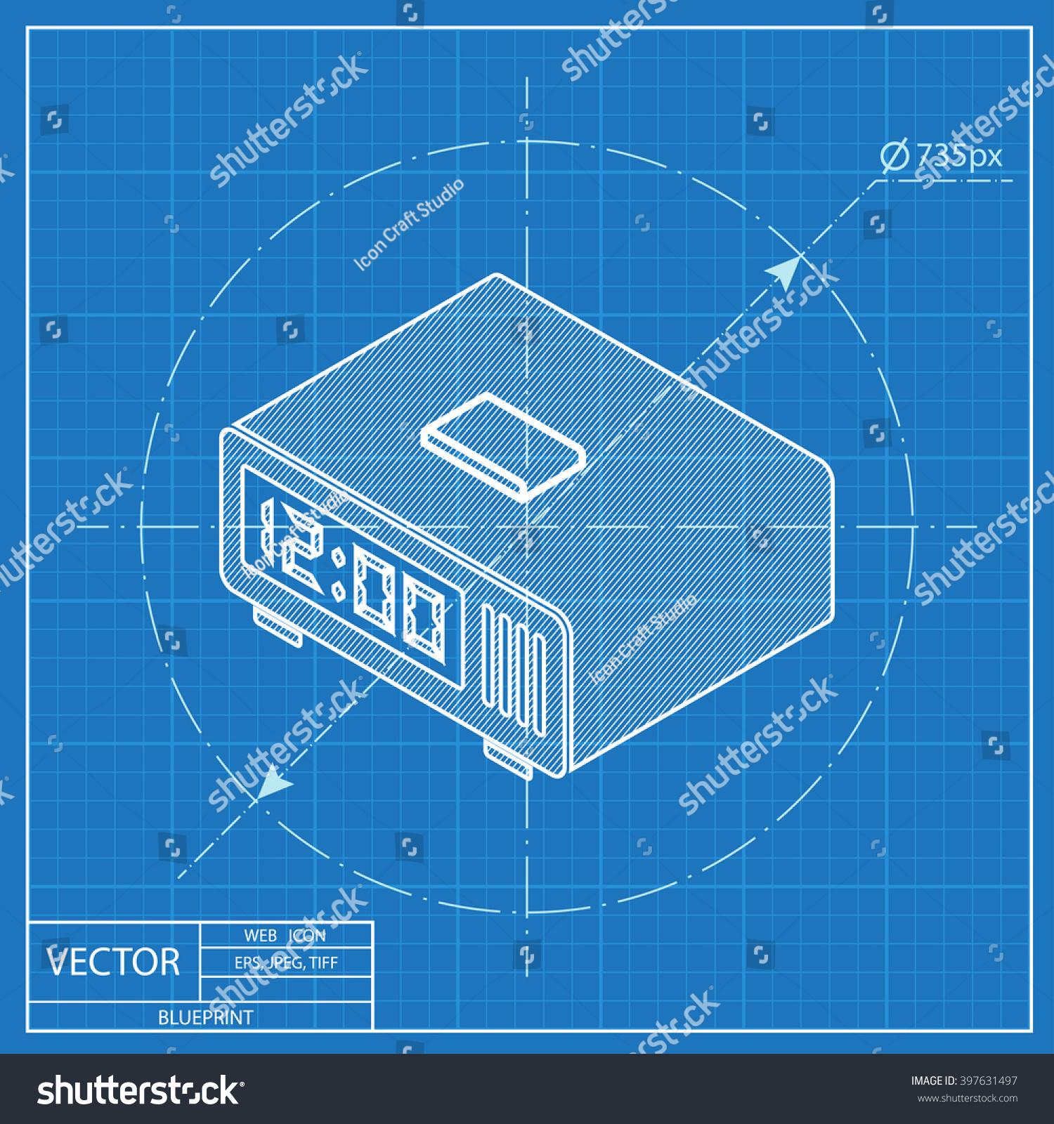 Digital alarm clock isometric 3d blueprint stock vector 397631497 digital alarm clock isometric 3d blueprint stock vector 397631497 shutterstock malvernweather Gallery