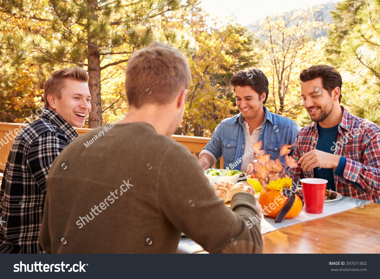 Gay man adult group