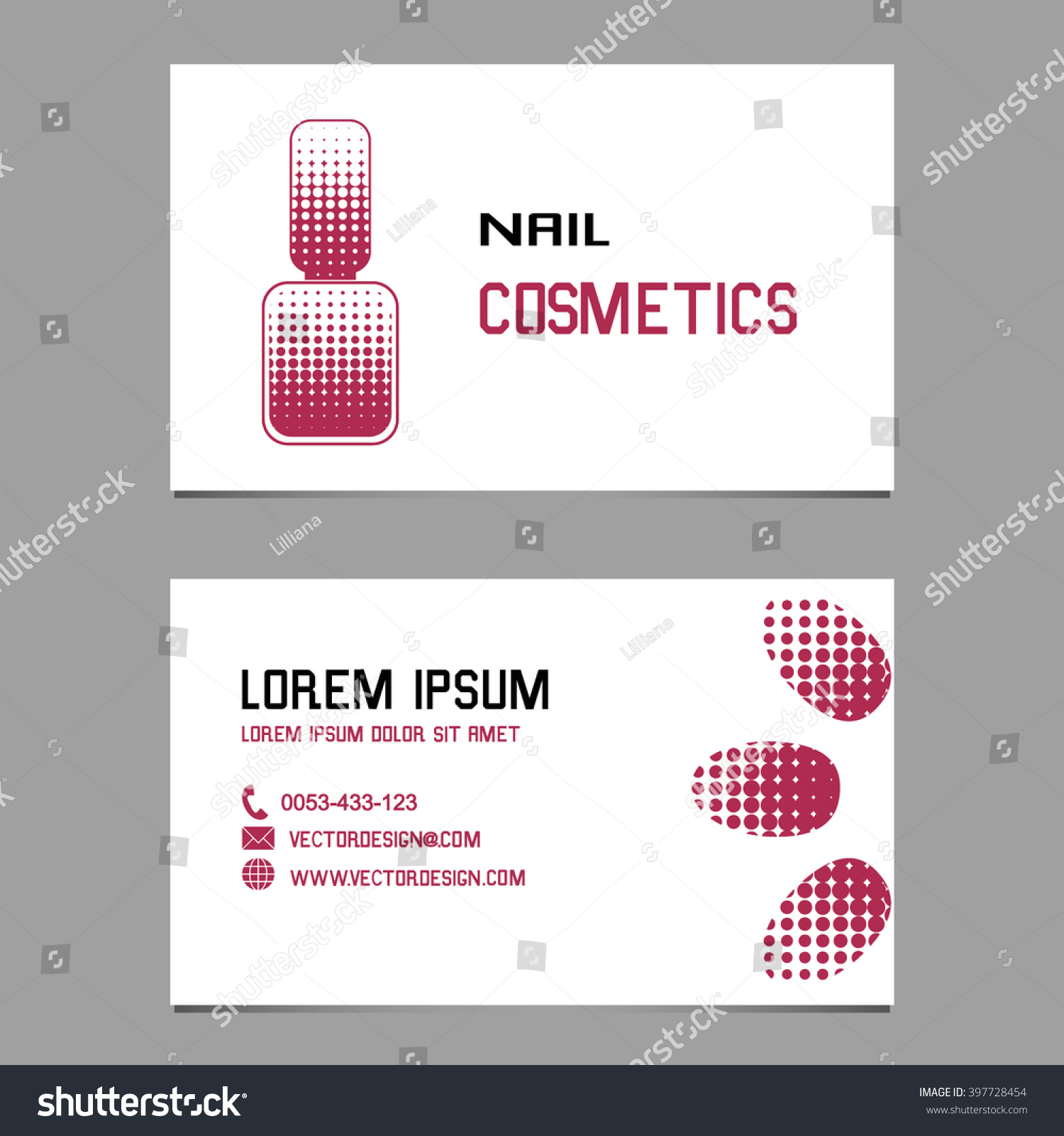 Design business cards logo company manicure stock vector 397728454 design business cards and logo of the company for manicure nail cosmetics and nail magicingreecefo Image collections