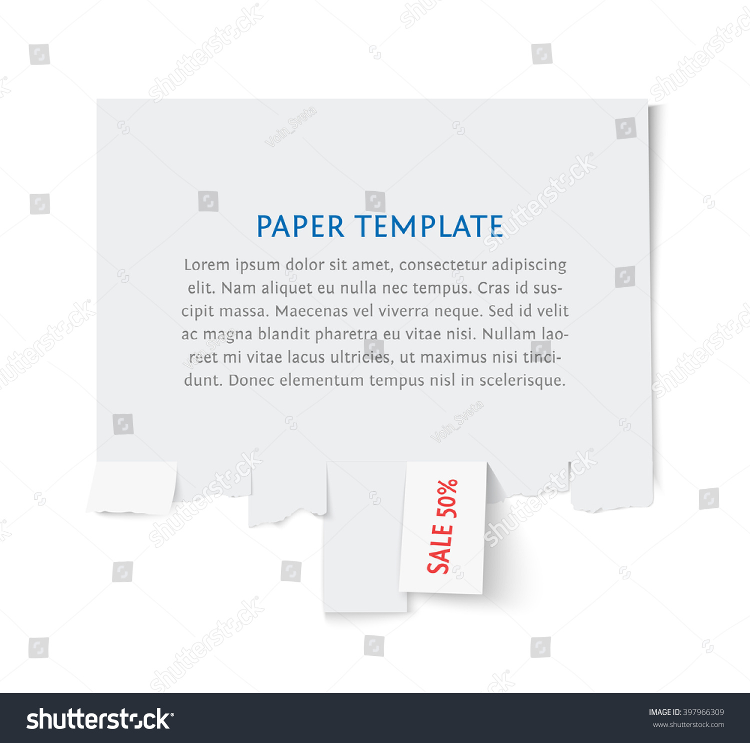 street advertisement template copy space for text isolated on save to a lightbox