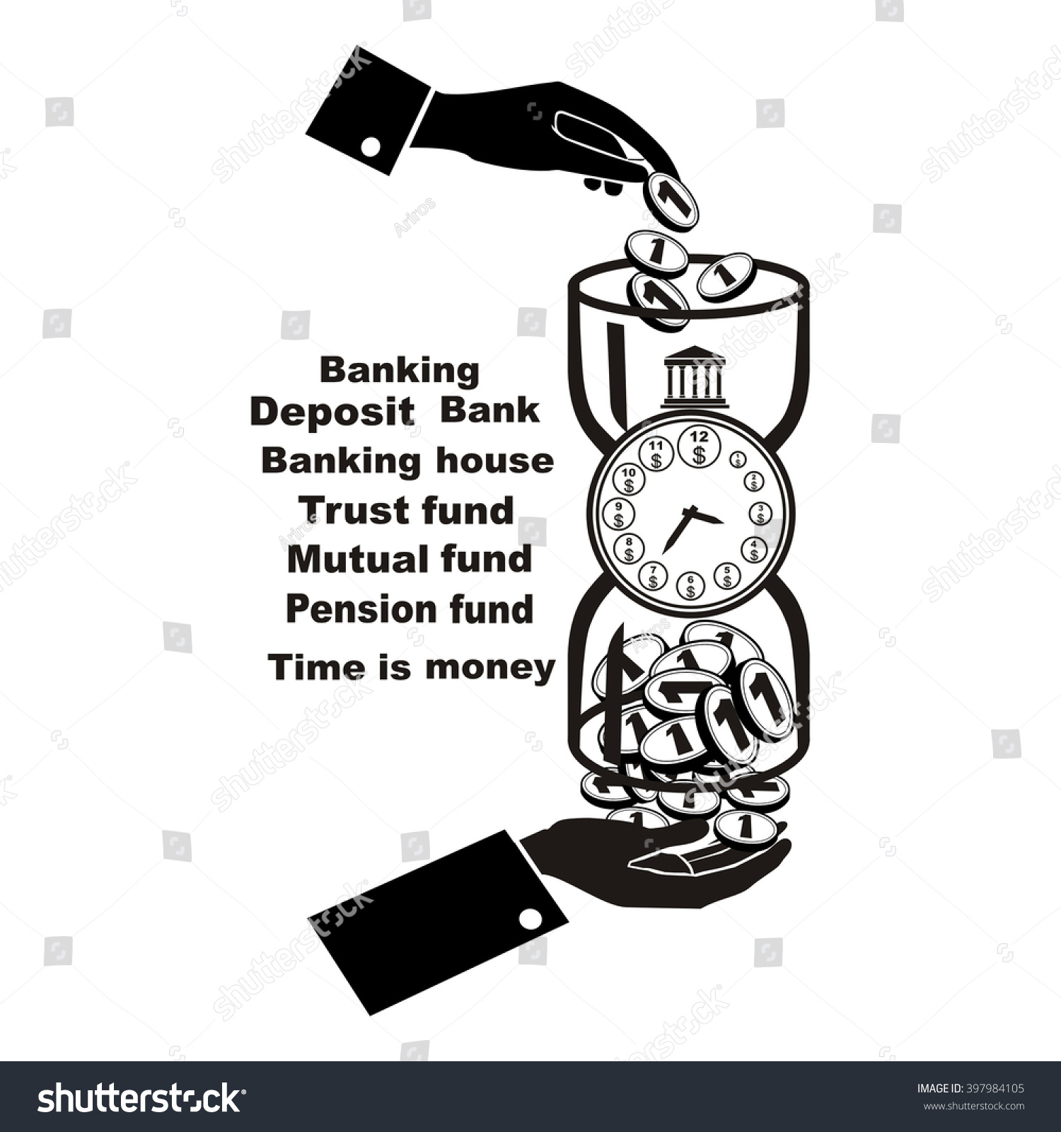Banking symbol bank symbol pension fund stock vector 397984105 banking symbol bank symbol pension fund symbol mutual fund symbol computer drawing biocorpaavc Images