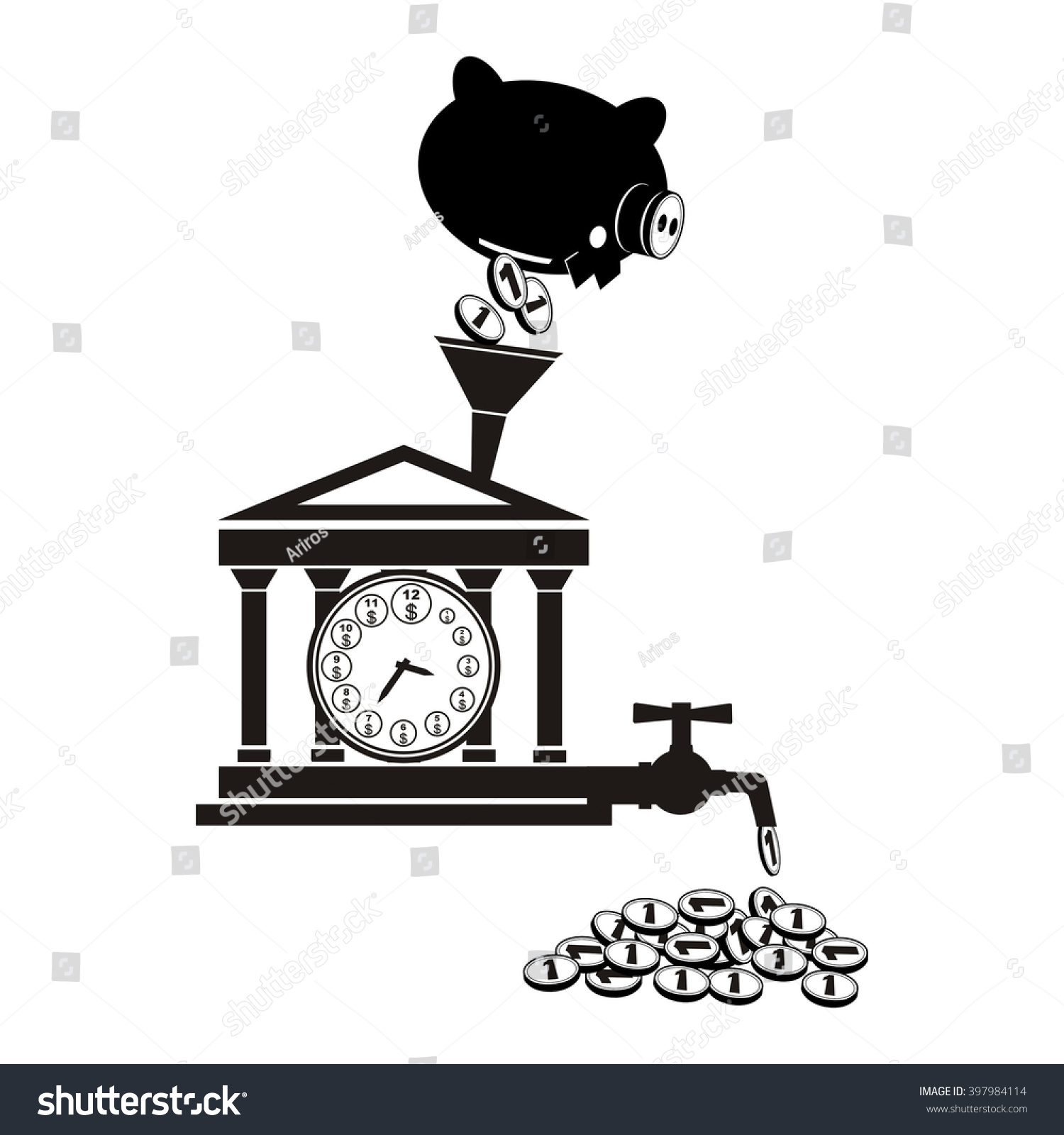 Banking symbol bank symbol pension fund stock vector 397984114 banking symbol bank symbol pension fund symbol mutual fund symbol computer drawing biocorpaavc Images