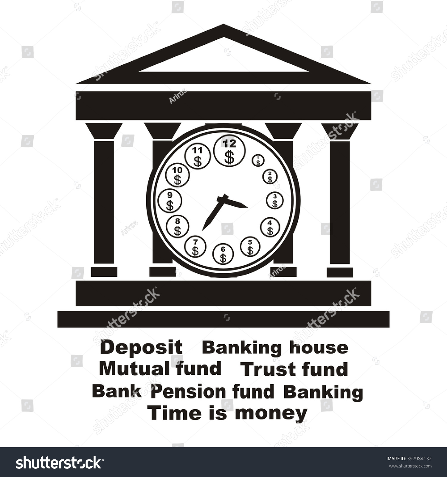 Banking symbol bank symbol pension fund stock vector 397984132 banking symbol bank symbol pension fund symbol mutual fund symbol computer drawing biocorpaavc Images