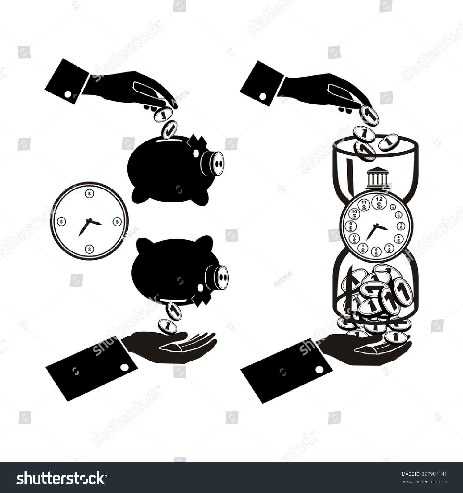 Banking symbol bank symbol pension fund stock vector 397984141 banking symbol bank symbol pension fund symbol mutual fund symbol computer drawing biocorpaavc Images