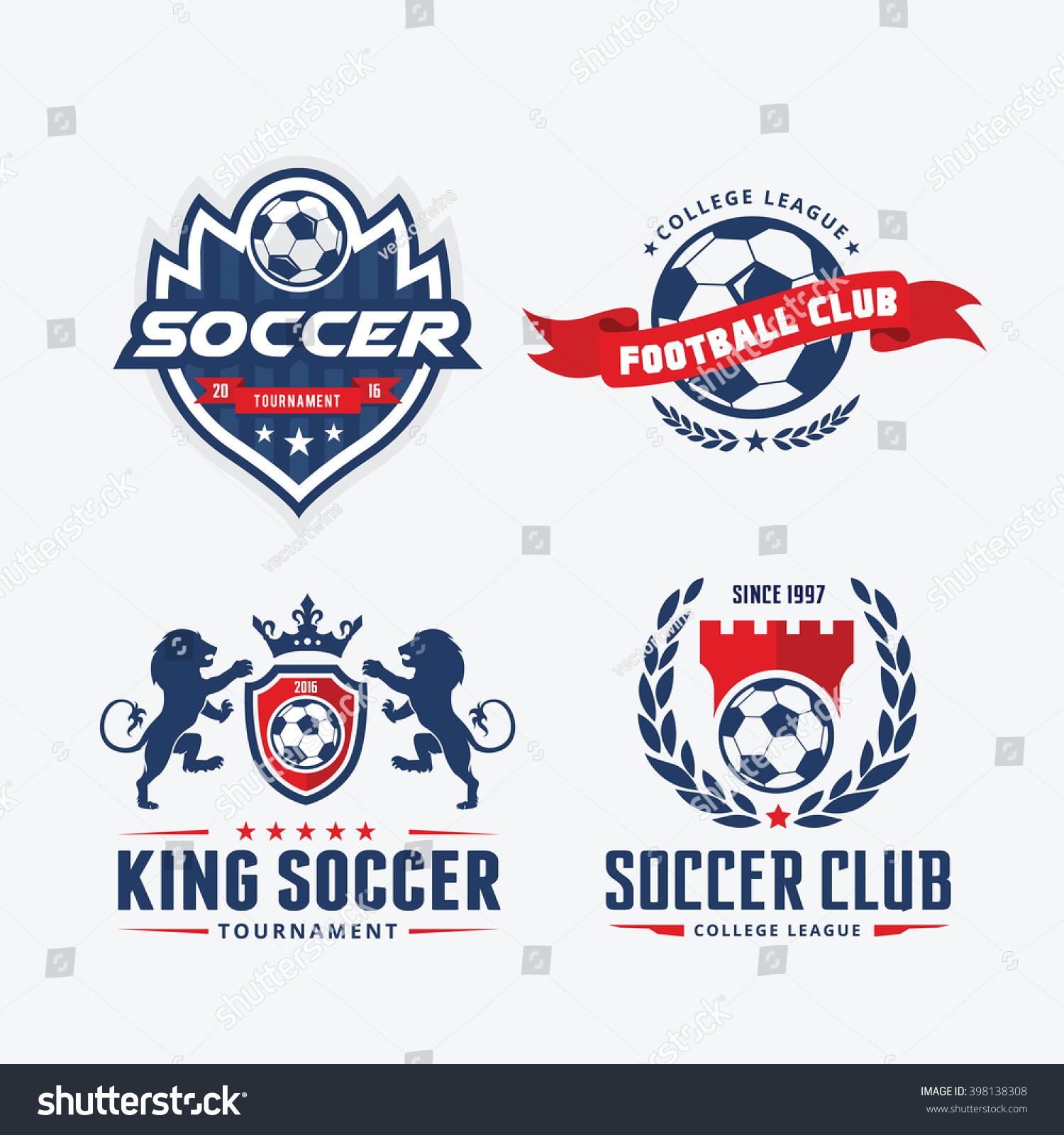 Football Badge Logo Template