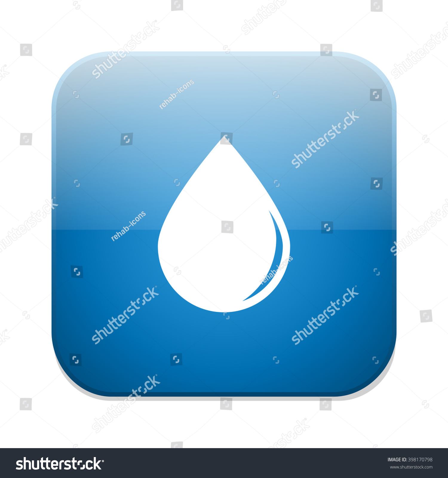 Water drop icon tear symbol stock vector 398170798 shutterstock water drop icon tear symbol biocorpaavc Image collections