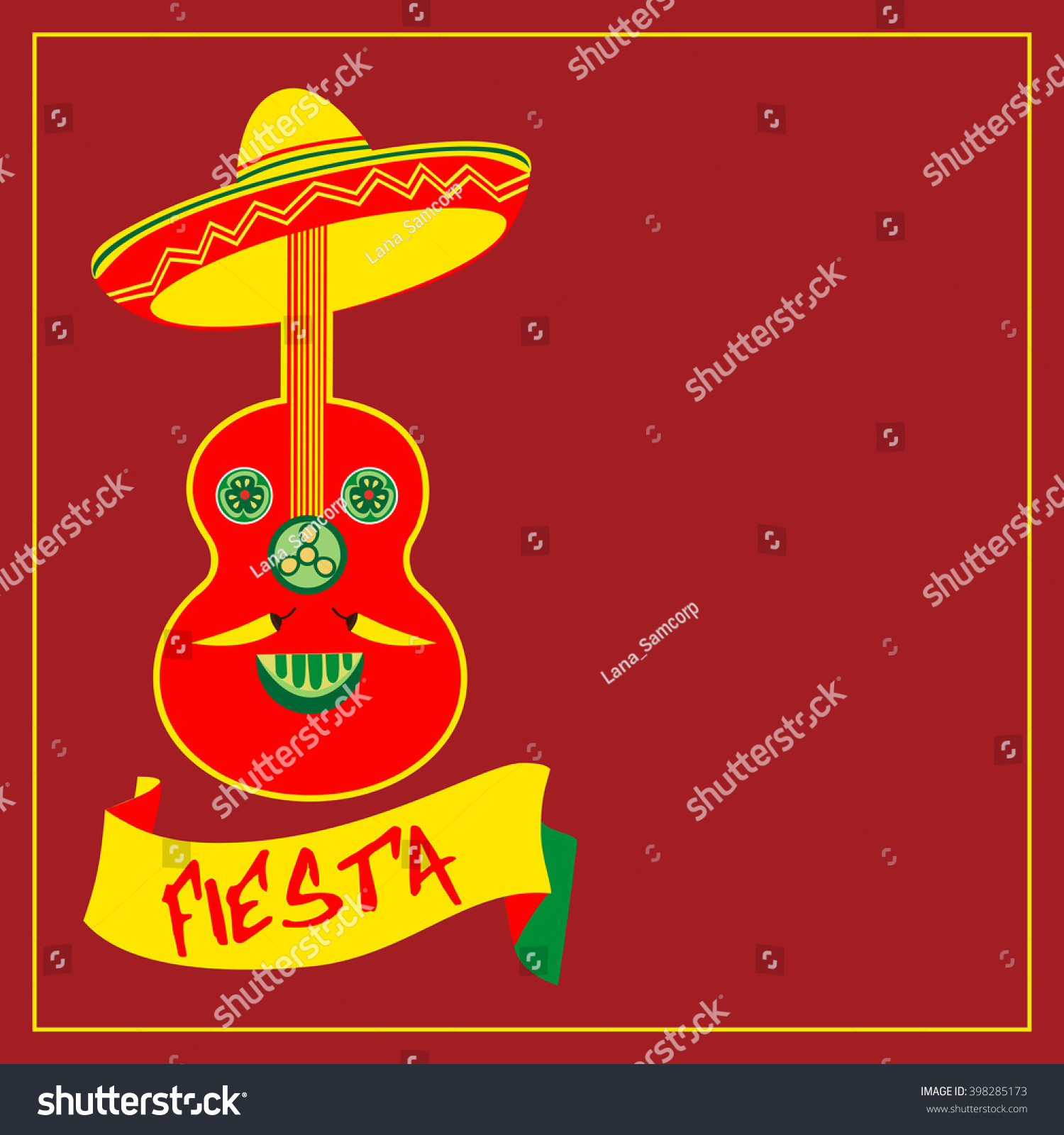 mexican fiesta party mexican holiday poster template card save to a lightbox