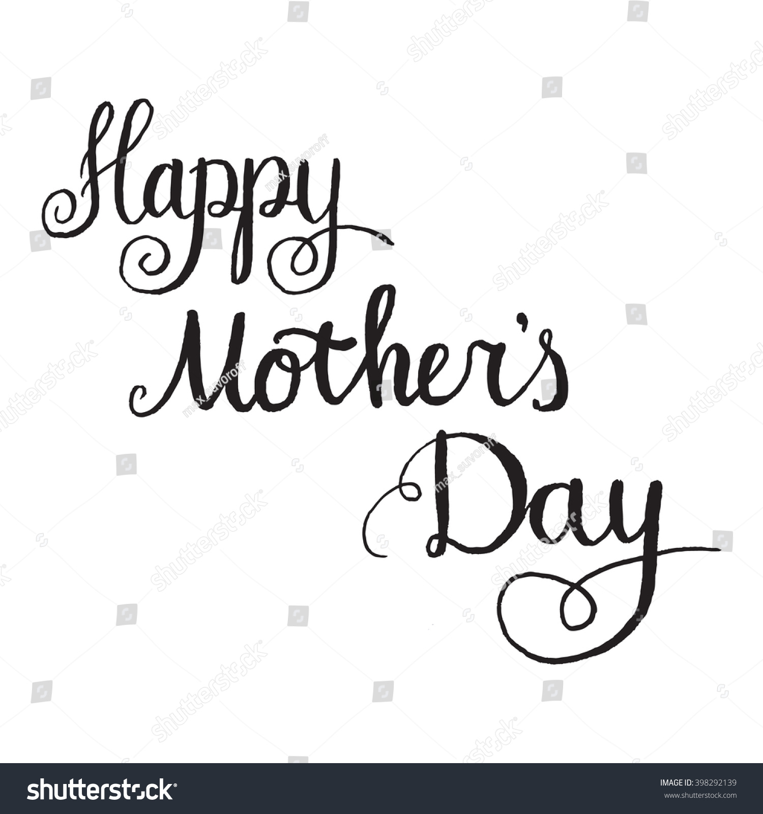 Galleries / Happy mothers day - tree unique design elements isolated ... : standard greeting card size template : Custom Card Template