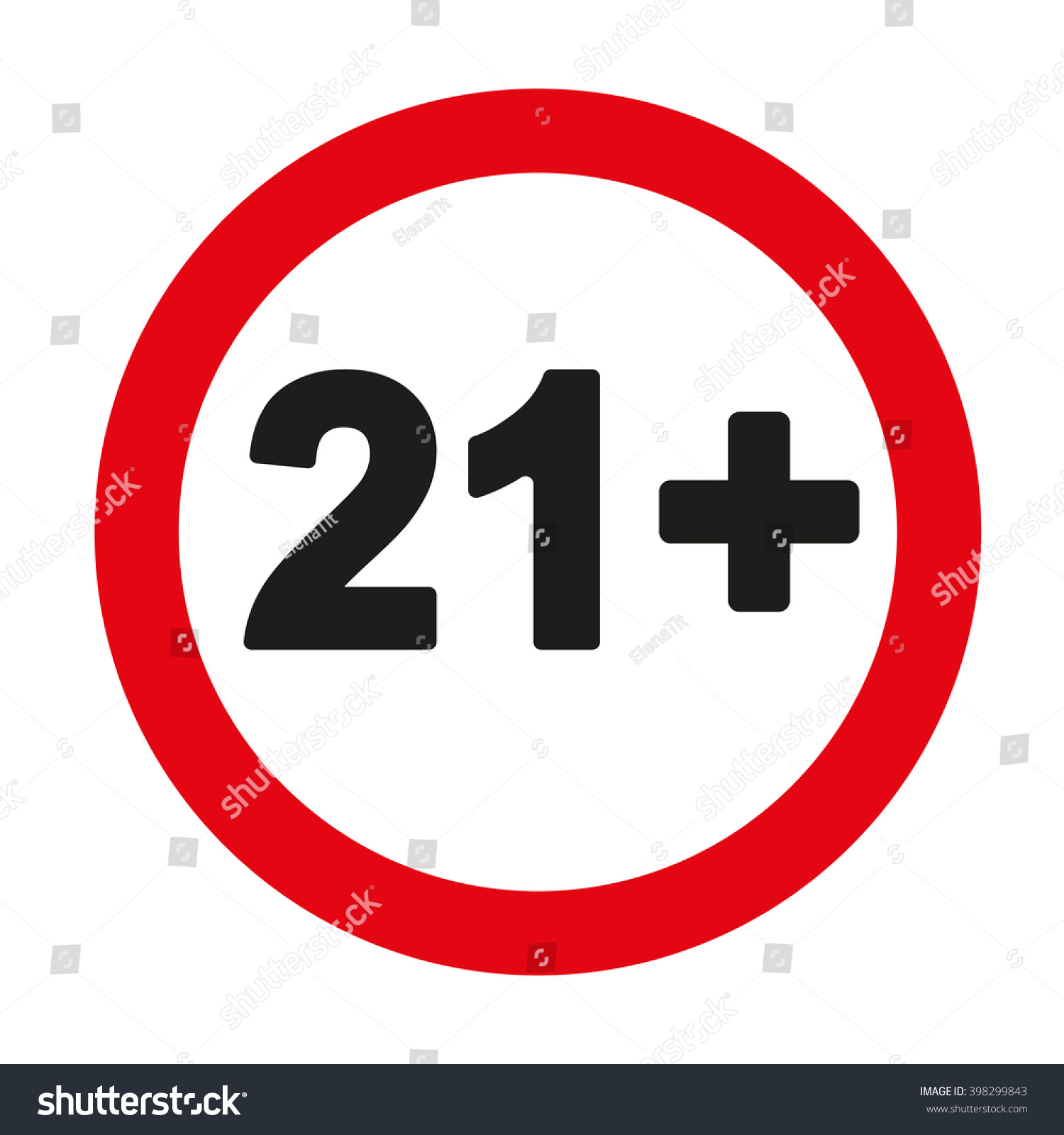 21 age restriction sign stock vector 398299843 shutterstock 21 age restriction sign platinumwayz