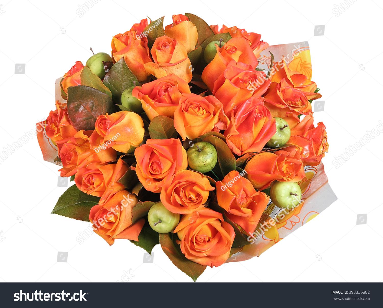 Floristic Design Big Round Flower Bouquet Stock Photo Royalty Free