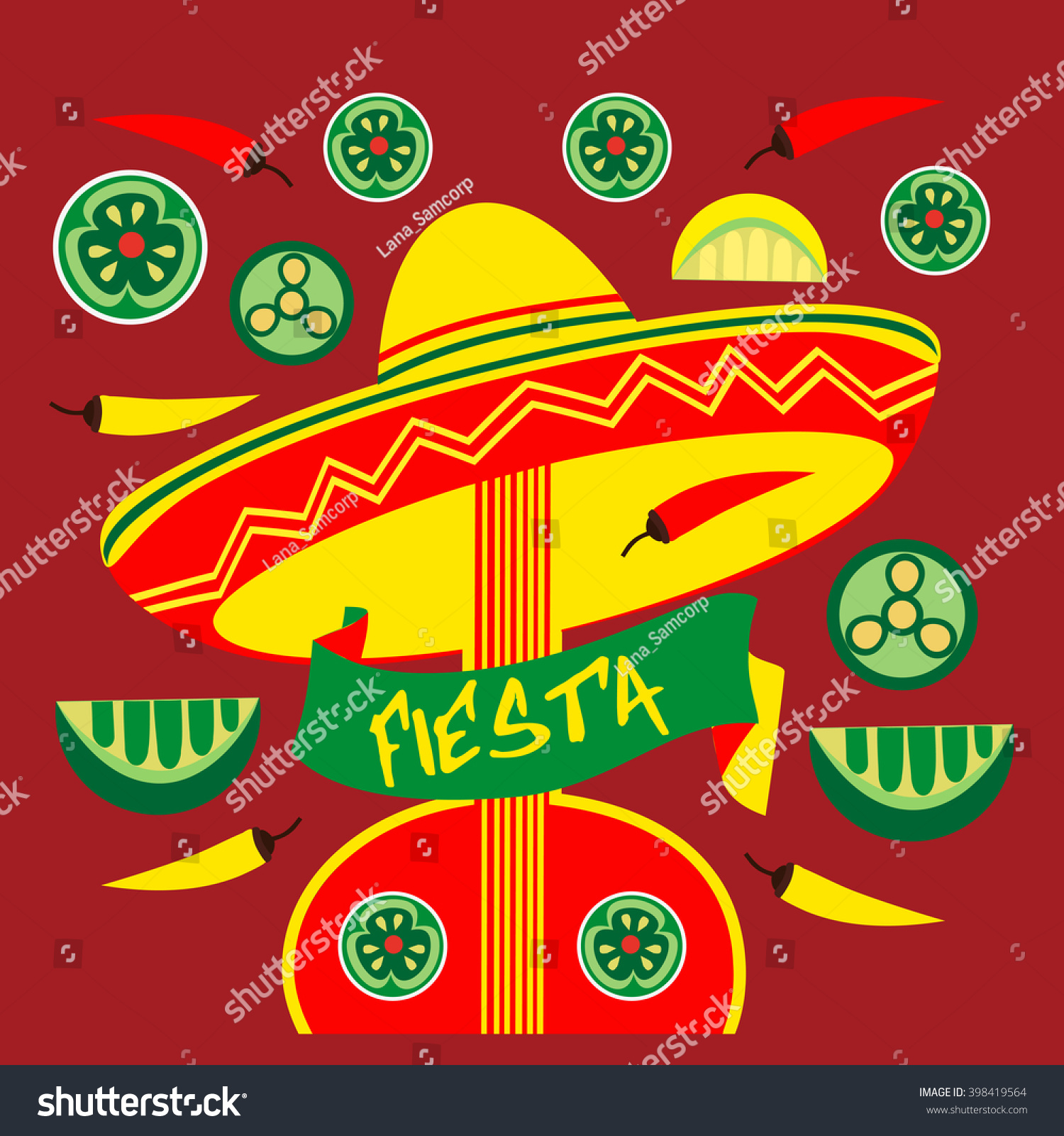 mexican fiesta party mexican holiday poster stock vector  mexican holiday poster template card invitation promotion cinco