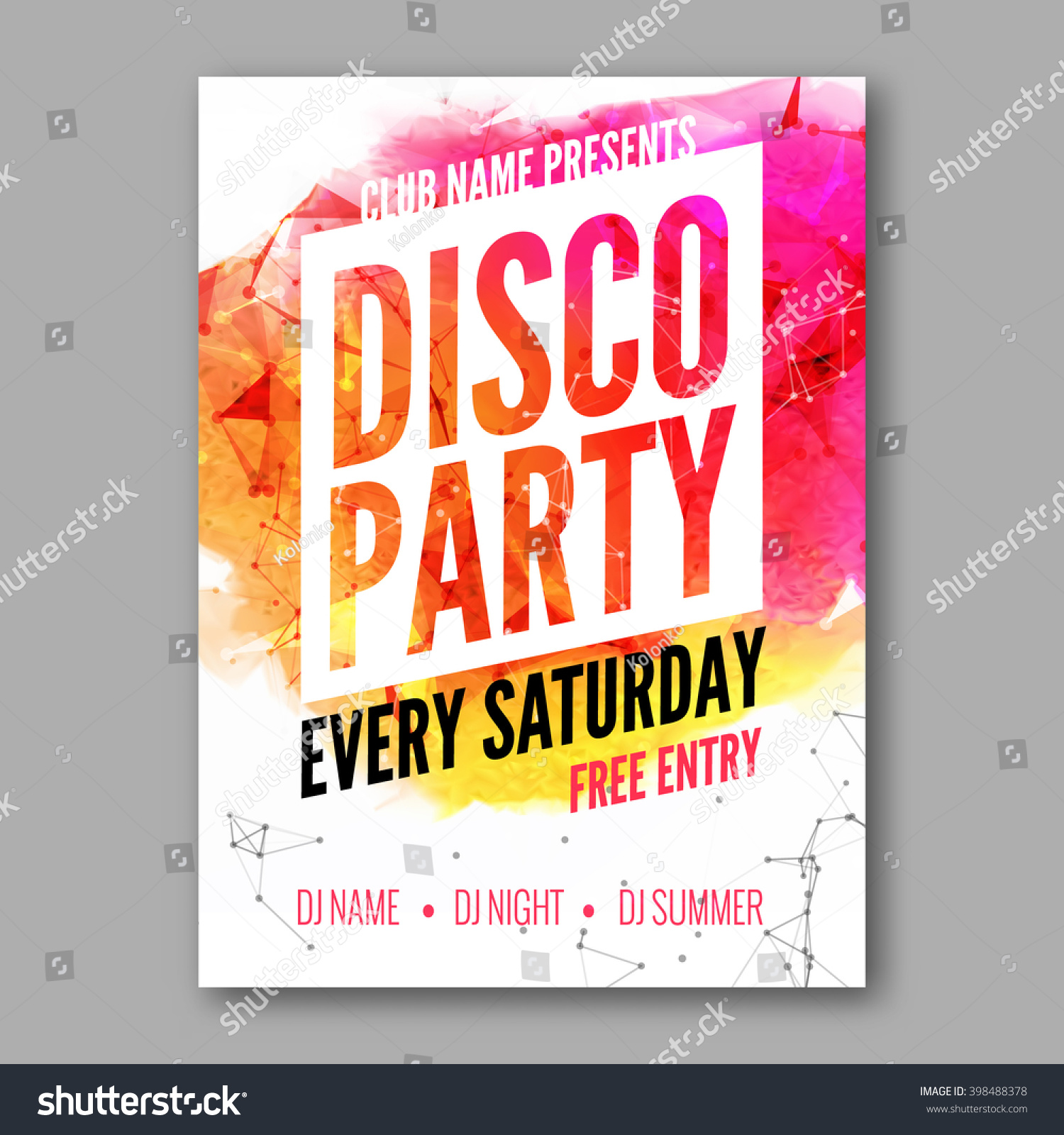 Party Poster Templates Free Iroshfo