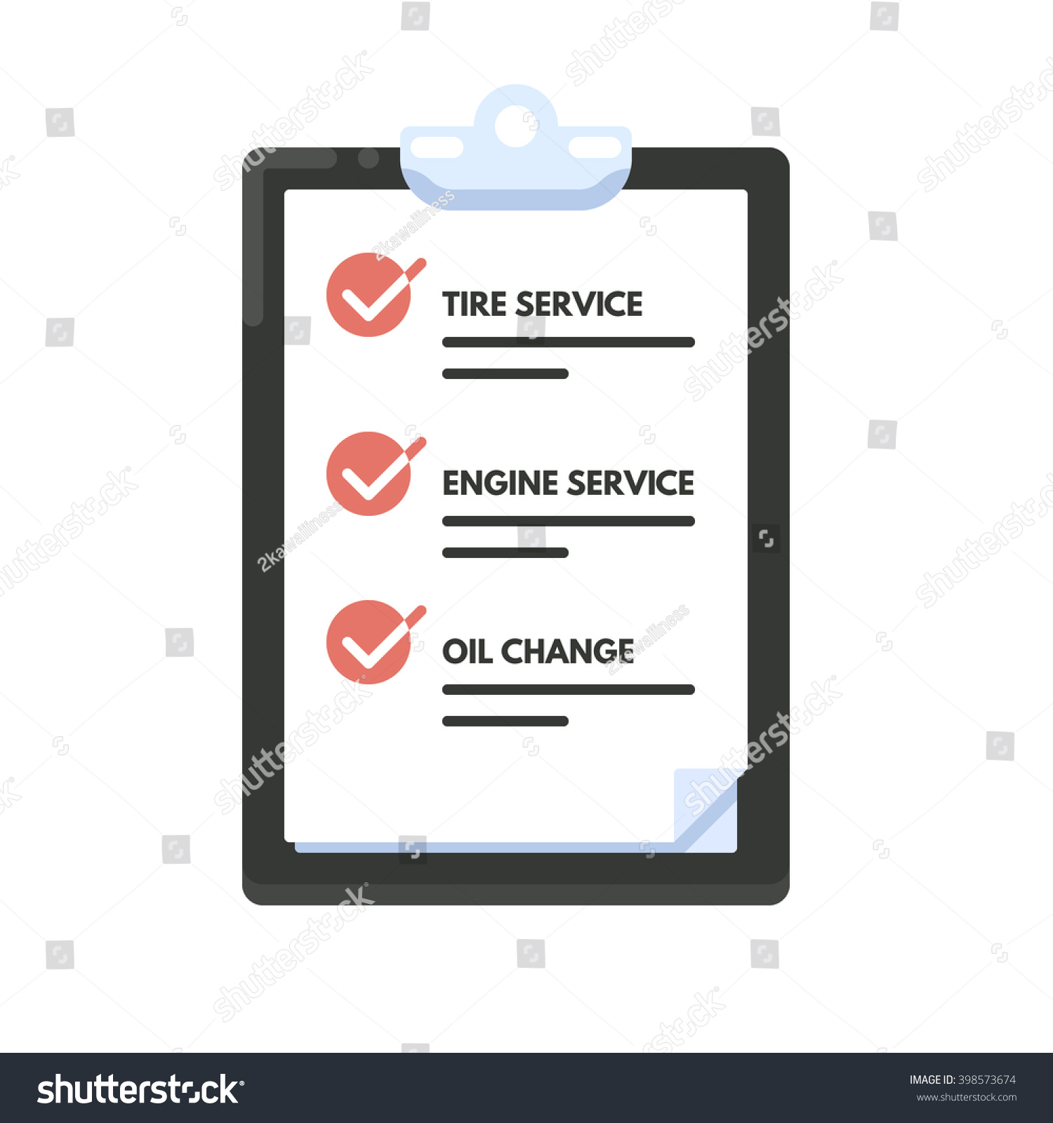 maintenance list