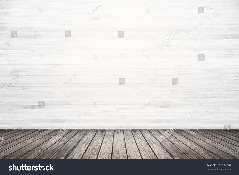 Empty Room Interior Old Grunge White Stock Photo 398894278