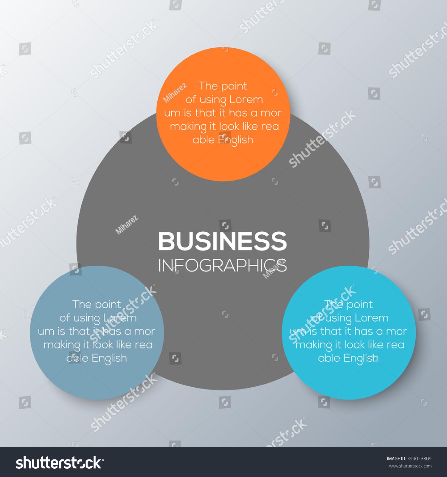 Vector Circles Infographic Template Diagram Graph Stock Vector ...