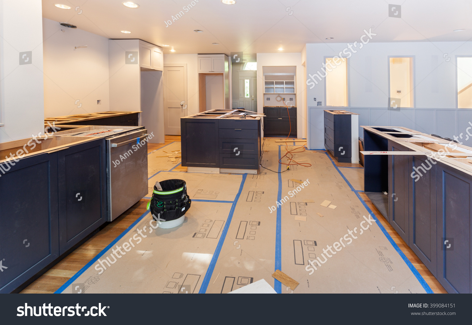 Balsa wood template arranged glued making stock photo for Template for granite countertops