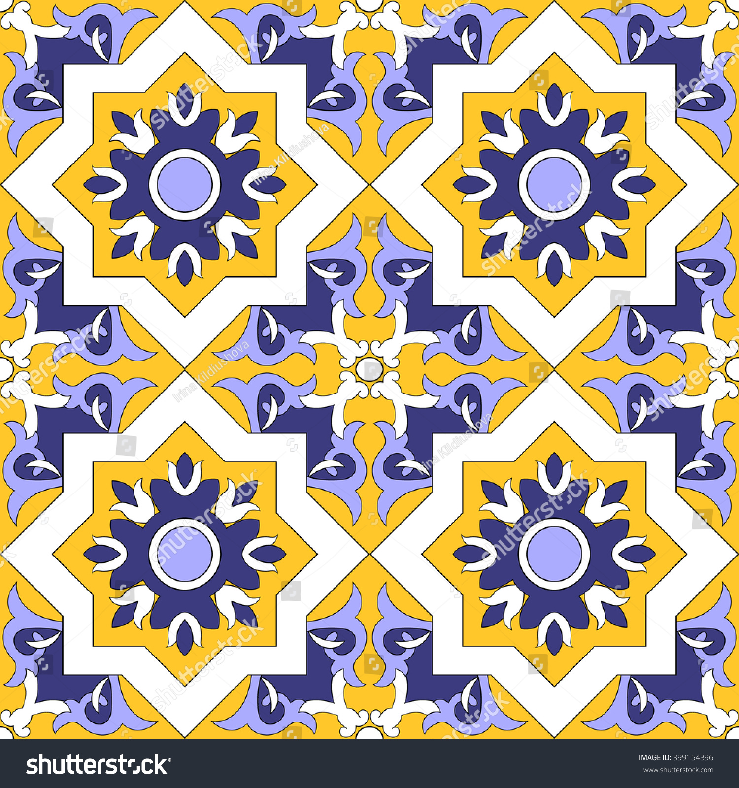 Tile floor tiles pattern vector seamless stock vector 399154396 tile floor tiles pattern vector seamless arabic style azulejo portuguese tiles spanish dailygadgetfo Choice Image